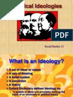 SS 11 Political Ideologies Presentation