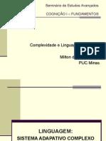 Cognição I - MILTON - Complexidade e Linguagem