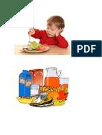 Comida Salu y No Salud