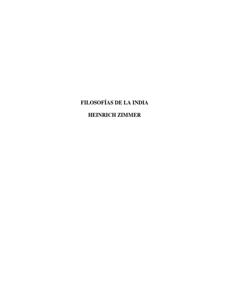 Zimmer Heinrich. Filosofias de La India.pdf