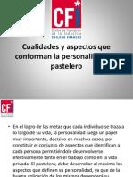 Pasteleria Decoraciones y Perfil Del Pastelero