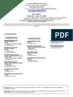 Hot Sheet June 28 - July 5, 2013