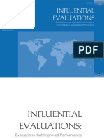 Influential Evaluations