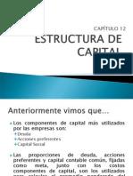 12 Estructura de Capital
