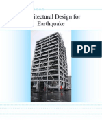 Architectural Design for Earthquake