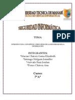 PRINCIPIOS DE LA SEGURIDAD DE LA INFORMACIÓN