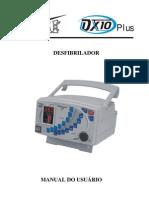 Manual do Usuário Desfibrilador DX-10 Plus EMAI