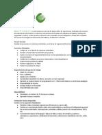 Auxiliar de proyectos en el área de sistemas embebidos r03