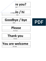 How Are You.docx Bye , Goodbye