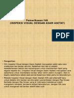 Pemeriksaan IVA