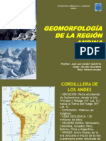GEOMORFOLOGÍA ANDINA 2DO AÑO SEC. 2012 1
