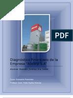 Ejemplo Diagnostico Financiero Ana Huaman Economia Unp