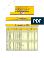 Catalogo de Transitores Originales