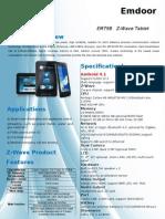 Em79b Z-wave Tablet