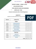 CSE-5th-sem-R2008 Syllabus