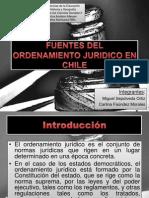 Fuentes del ordenamiento jurídico en Chile
