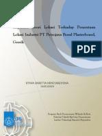 Implikasi Teori Lokasi Terhadap Penentuan Lokasi Industri PT Putrajaya Boral Plasterboard, Gresik