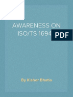 AWARENESS ON ISO/TS 16949- QMS