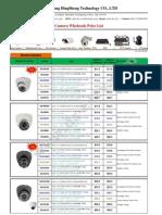 DS Camera Wholesale Price List 201208002