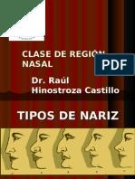 5ta Clase Cabeza - Fosa Nasal - Dr. Hinostroza