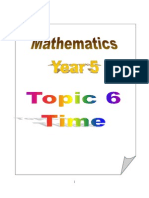 Topic 6 - Time