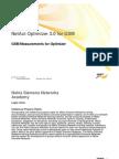 01 GSM Measurements for Optimizer OPT 3.0