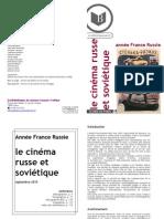 Bibliofilmographie cinéma russe & soviétique