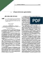 Ley Española 17 del 19 de Julio 2005