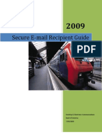 Secure Email Recipient Guide - General