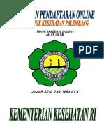 Panduan Pendaftaran Sipenmaru Poltekkes Palembang 2013 Paling Baru