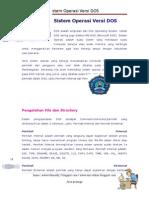 Sistem Operasi Versi DOS