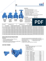SRI cast iron valve