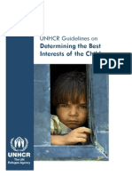 Child Rights_UNHCR Guidelines for Determining the Best Interests of the Child