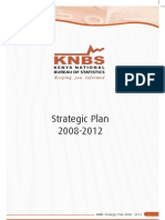 The KNBS Strategic Plan for 2008-2012 Period