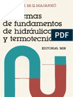 Problemas de fundamentos de hidraulica y termotecnia - V. G. Erojin, M. G. Majankó