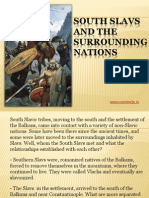 3 - South Slavs and the surrounding nations