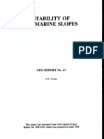 Stability of Marine