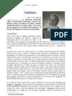 José Lázaro Galdiano. Un amigo de Argentina.