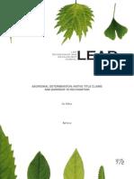 ABORIGINAL DETERMINATION NATIVE TITLE CLAIMS.pdf