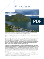 Cerita Rakyat Dalam Bahasa Inggris Danau Toba