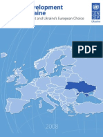 Ukraine human development report 2008