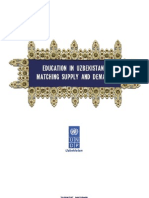 Uzbekistan human development report 2008