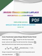 Soal Transformasi Laplace Syaiful Efendi