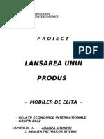 Lansare Produs - Studiu de Caz Firma de Mobila