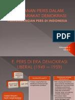 Peranan Pers Dalam Masyarakat Demokrasi
