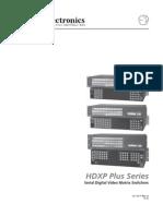 A100. Extron HDXPPlusSeries