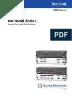 A116. Extron SW HDMI Series