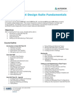 Autodesk Plant Design Suite Fundamentals