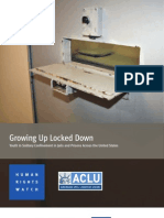 Growing Up Locked Down - Youth in Solitary Confinement Across US