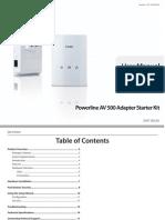 Dhp-501av Manual en Us